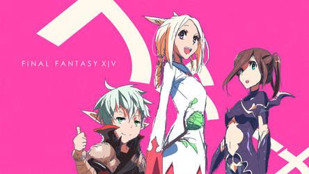 Final Fantasy XIV | WIP by moxie2D