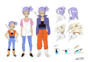 Time Patroller Moxie | Dragonball Xenoverse by moxie2D