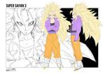 Female SSj3| Dragonball Xenoverse by moxie2D
