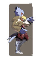 Day 12 | Falco by moxie2D