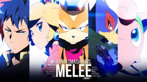 THE MELEE GODS | Character Wallpaper by moxie2D