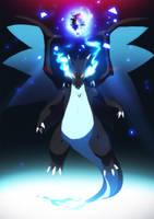 Day 10 | Mega Charizard X Final Smash by moxie2D