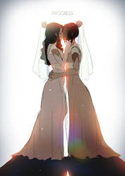 30 | Korra and Asami: Love Wins by moxie2D