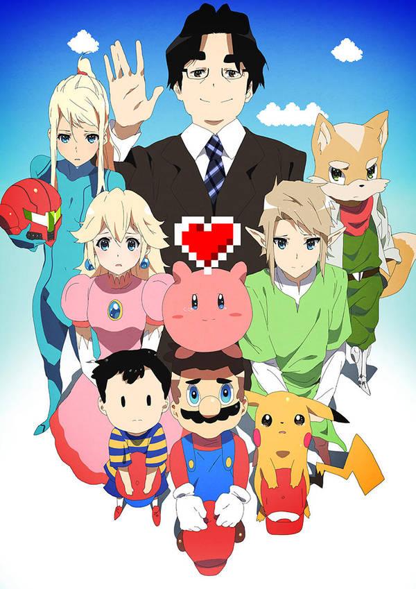 Thank You, Iwata by moxie2D