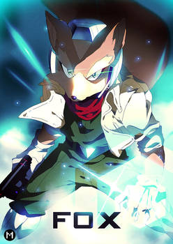 Super Smash Bros. Melee | FOX by moxie2D