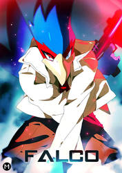 Super Smash Bros. Melee | Falco by moxie2D