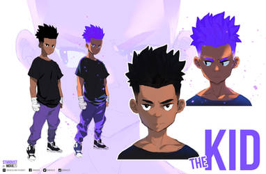 The Kid - Concept Art | Stardust by moxie2D