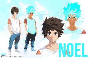 Noel - Concept Art | Stardust by moxie2D