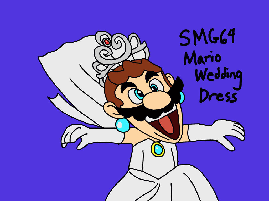 Smg4 Mario Wedding Dress By Ultrasponge On Deviantart