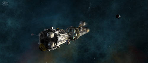 Gagarin outbound by Drell-7