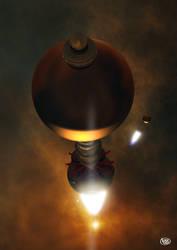 Dr. Enzmann's Starships by Drell-7