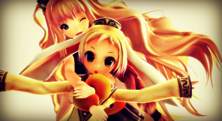 MMD - Usagi and Go-yong-i by YuMoriChii