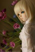 Albie - Flower girl by SchizoCheese