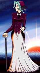 MUP: Michiru Time Period Dress by kuroitenshi13