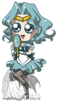 Big Eyes Chibi Sailorneptune by kuroitenshi13