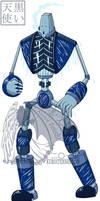 Aes: Brass Revolution Ice Robot by kuroitenshi13