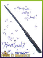 SOLD Wand of Simplicity by kuroitenshi13