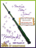 SOLD Wand of the Golden Kelp by kuroitenshi13