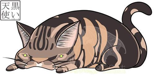 Chibi Kitty 1 by kuroitenshi13