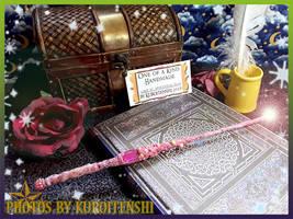 Wand of Amaranthine Blush by kuroitenshi13
