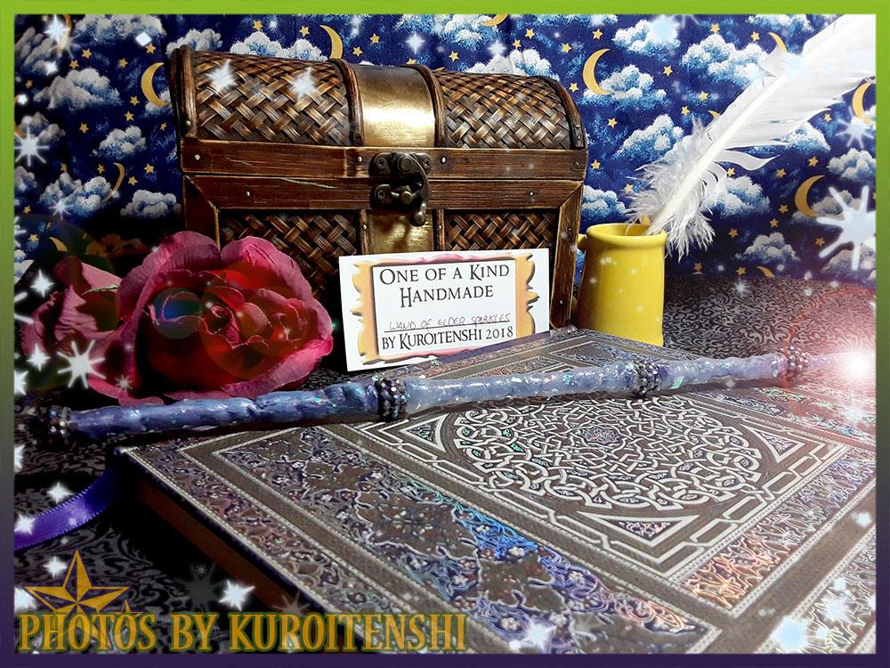 Wand of Elder Sparkles by kuroitenshi13