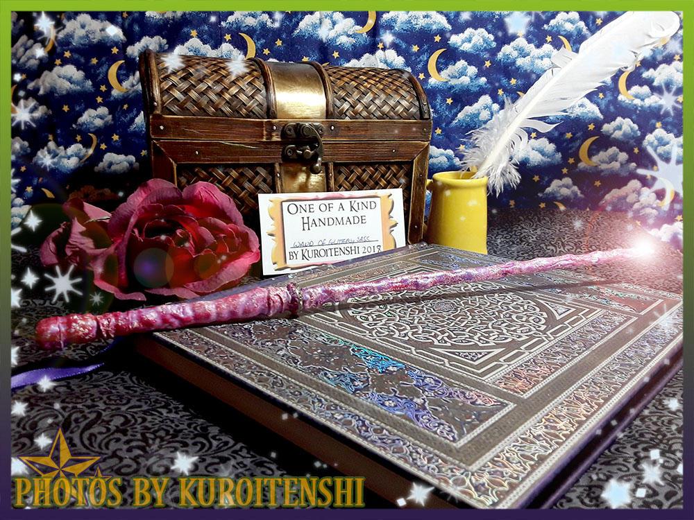 Wand of Glittery Sass by kuroitenshi13