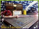 Wand of Golden Glamour by kuroitenshi13