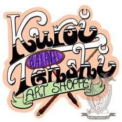 Kuroitenshi Art Shoppe Logo by kuroitenshi13