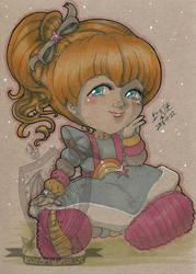 Toned Paper Rainbow Brite by kuroitenshi13