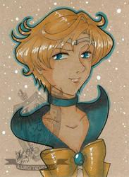 Toned Paper Sailoruranus by kuroitenshi13