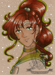 Toned Paper Sailorjupiter by kuroitenshi13