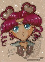 Toned Paper Sailorchibichibimoon by kuroitenshi13