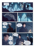 Hades and Persephone: comic panel #1 by fdevita