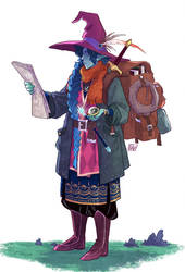 Character Design Challenge: Backpackers by fdevita