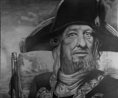 Captain Hector Barbossa by vivek12699