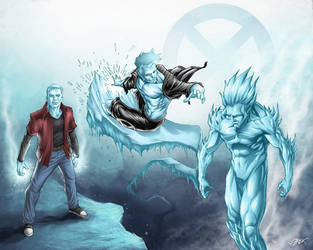 Iceman triple by Titanbolzen