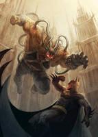 Batman Bane Cover by Titanbolzen