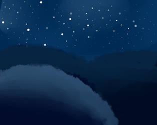 Night Sky by AF20cartoons