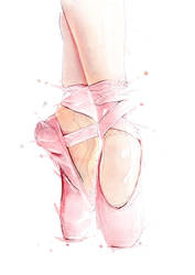 Ballet Shoes by CMYKyles