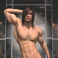 Zeek the Stripper - detail by Hanumeldo