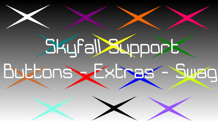 Skyfall Buttons Extras and Swag I by TronicMusic