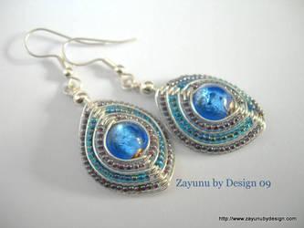 POOL OF BLUE AURA by zayday