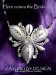 Nadine Tri-cowry necklace. by zayday