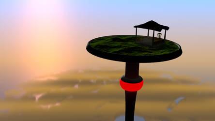 Platform in the heights - WIP by Tukotih
