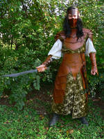 Moredel Dark Elf Warrior Armor by mbielaczyc