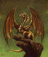 Clockwork Steampunk Dragon by mbielaczyc