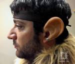 Dwarf Ears costume prosthetic by mbielaczyc