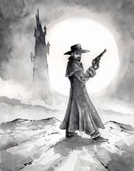 The Gunslinger by mbielaczyc