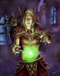 The Demon's Apprentice by mbielaczyc
