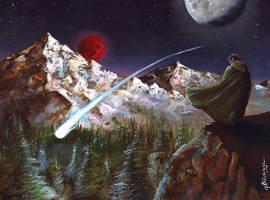 Star Watcher by mbielaczyc